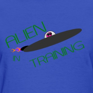 Ladie's LT T-Shirt        Alien  - Women's T-Shirt