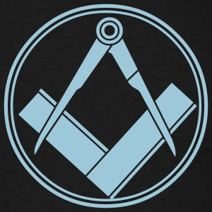Black freemasonry T-Shirts - Men's T-Shirt