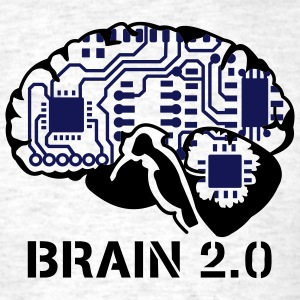 Light oxford brain 2.0 T-Shirts - Men's T-Shirt