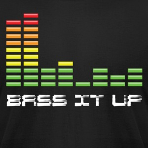 Black Bass it Up T-Shirts - Men's T-Shirt by American Apparel