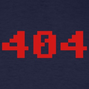 Navy 404 T-Shirts - Men's T-Shirt