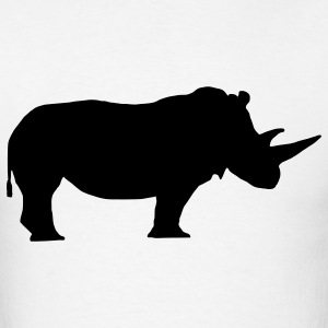 White rhino T-Shirts - Men's T-Shirt