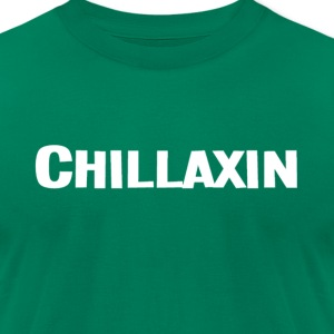 Chillaxin - Mens AA Tee - Men's T-Shirt by American Apparel