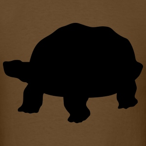 Brown tortoise T-Shirts - Men's T-Shirt