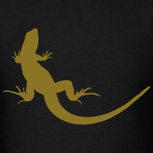 Black lizard T-Shirts - Men's T-Shirt