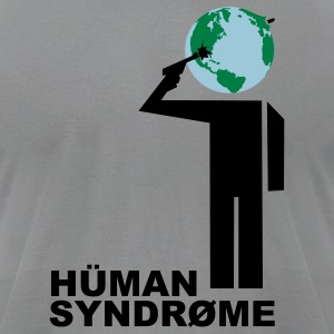 Planetary human suicide - Men's T-Shirt by American Apparel