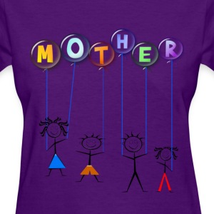 Mother's Day Balloon - Women's T-Shirt