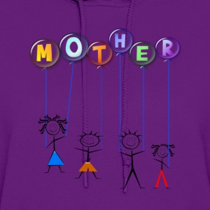 Mother's Day Balloon - Women's Hoodie