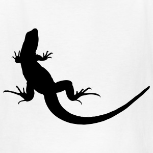White lizard Kids' Shirts - Kids' T-Shirt