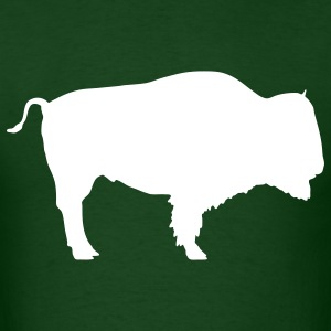 Forest green bison T-Shirts - Men's T-Shirt