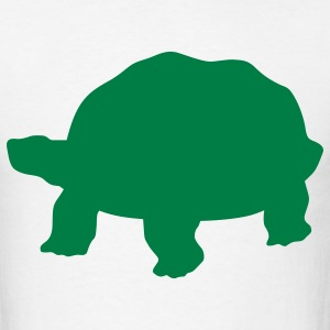 White tortoise T-Shirts - Men's T-Shirt