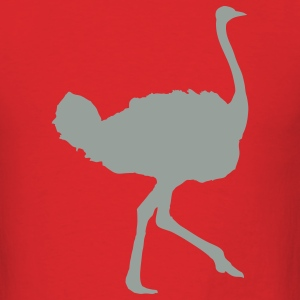 Red ostrich T-Shirts - Men's T-Shirt