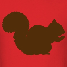 Red squirrel T-Shirts