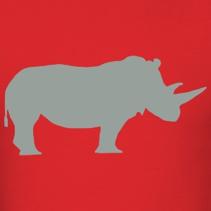 Red rhino T-Shirts - Men's T-Shirt