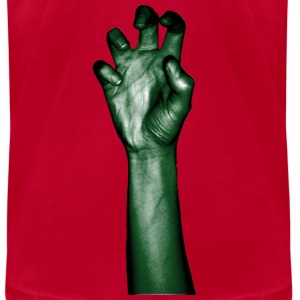 Red hand T-Shirts - Men's T-Shirt by American Apparel