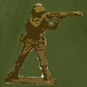 Olive toy soldier T-Shirts - Men's T-Shirt by American Apparel
