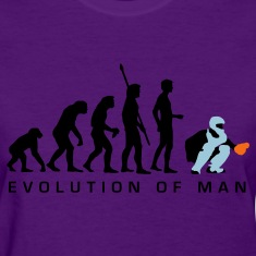 Light blue evolution_baseball_catcher_b_3c Women's T-Shirts