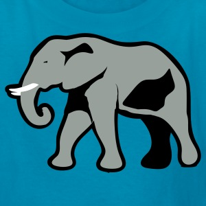 Orange GREY ELEPHANT Kids' Shirts - Kids' T-Shirt