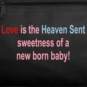 Love is like the heaven sent sweetness of a newborn baby - Duffel Bag