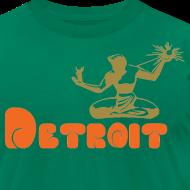 Design ~ Spirit of Detroit Men's American Apparel Tee