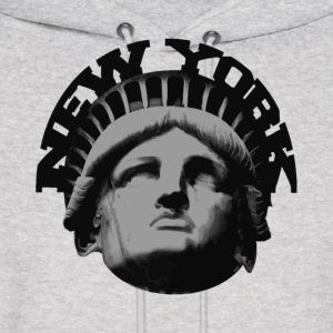 Ash  new york statue of liberty Hoodies - Men's Hoodie