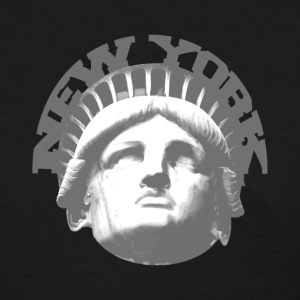 Black new york statue of liberty Women's T-Shirts - Women's T-Shirt