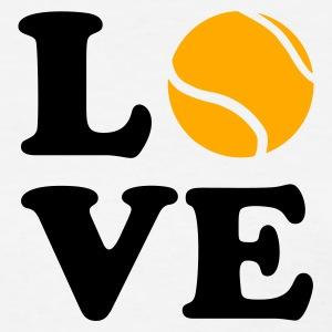 White Love Tennis Women's T-Shirts - Women's T-Shirt