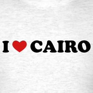 Light oxford I Love Cairo T-Shirts - Men's T-Shirt