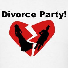 White Divorce Party! T-Shirts