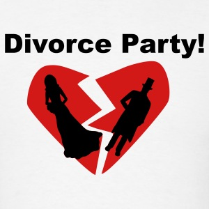 White Divorce Party! T-Shirts - Men's T-Shirt