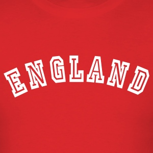 Red England T-Shirts - Men's T-Shirt