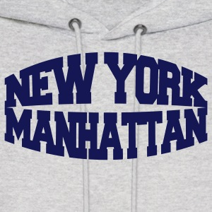 Ash  new york manhattan Hoodies - Men's Hoodie