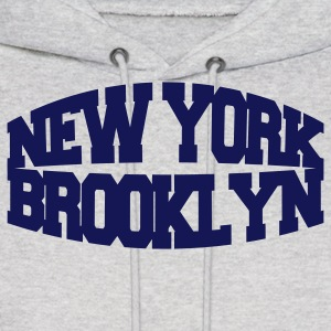Ash  new york brooklyn Hoodies - Men's Hoodie