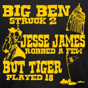Big Ben Struck Two - Men's T-Shirt by American Apparel