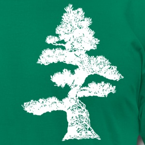 Kelly green Crooked Pine T-Shirts - Men's T-Shirt by American Apparel