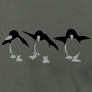 Asphalt Penguins T-Shirts - Men's T-Shirt by American Apparel