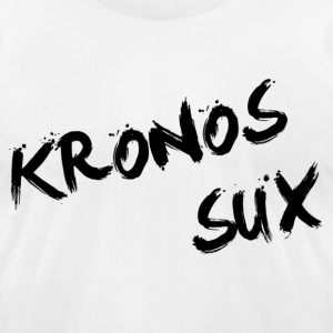 Kronos Sux - Men's T-Shirt by American Apparel