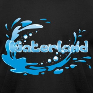 Waterland - Men's T-Shirt by American Apparel