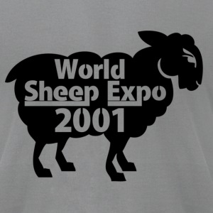 World Sheep Expo 2001 - Men's T-Shirt by American Apparel