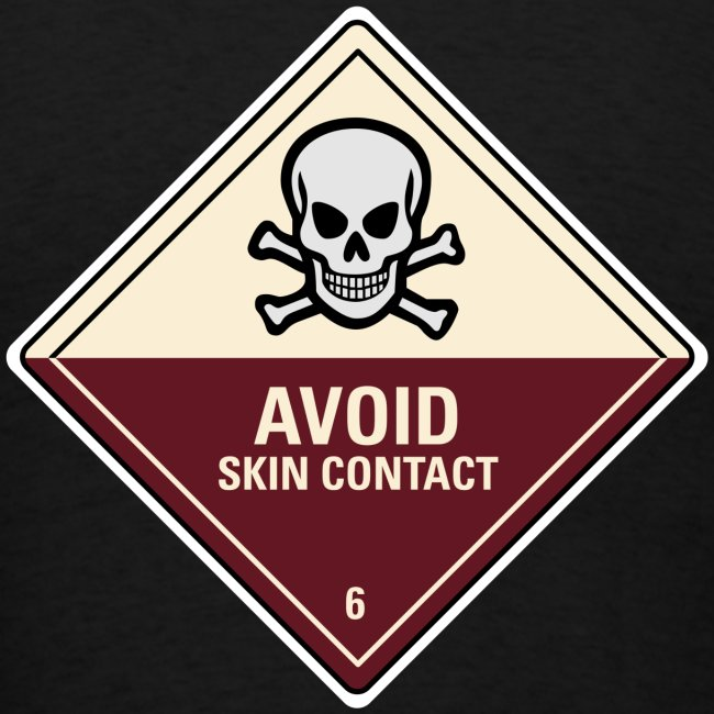 Avoid Skin Contact (Back)