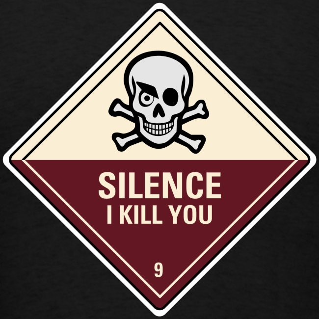 Silence I Kill You (Back)