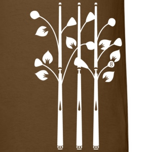 cue trees white - Men's T-Shirt