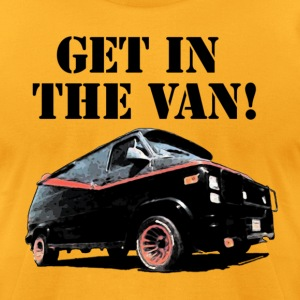 Get In The Van - Men's T-Shirt by American Apparel