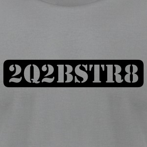 too cute to be straight (1c) - Men's T-Shirt by American Apparel