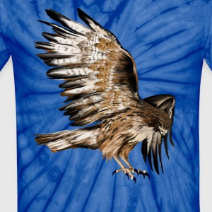Flying Hawk - Unisex Tie Dye T-Shirt
