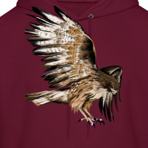 Flying Hawk - Men's Hoodie