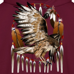 Flying Hawk Dreamcatcher - Men's Hoodie