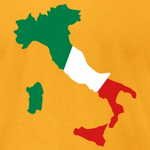 Gold Italy T-Shirts - Men's T-Shirt by American Apparel
