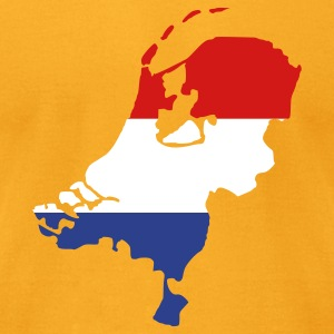 Gold Netherlands T-Shirts - Men's T-Shirt by American Apparel