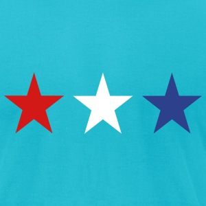 Turquoise Netherlands T-Shirts - Men's T-Shirt by American Apparel